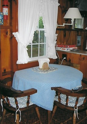 Eastham Cape Cod vacation rental - Dining area of kitchen