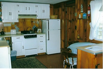 Eastham Cape Cod vacation rental - Kitchen w/dishwshr, stove, frig, toaster, coffeemaker & microwave