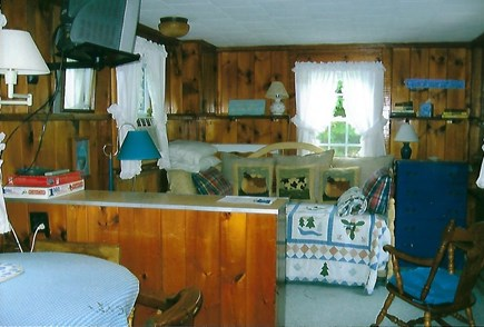 Eastham Cape Cod vacation rental - Living and sleeping area (day bed w/trundle)