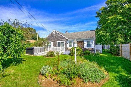 Hyannis Cape Cod vacation rental - Side yard
