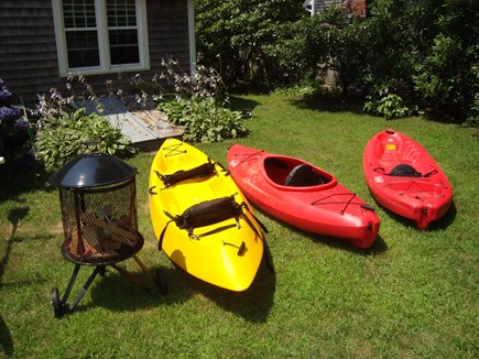 Falmouth Cape Cod vacation rental - Some of the Kayaks available, we share about 7 kayaks