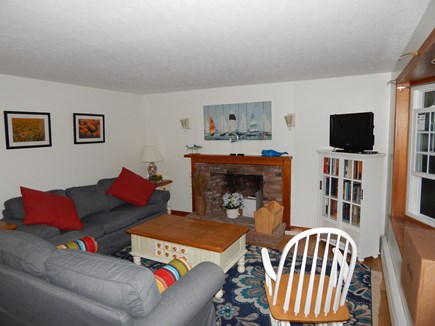 Falmouth Cape Cod vacation rental - The living room, wireless internet