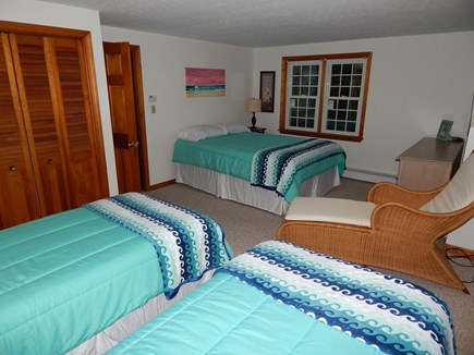 Falmouth Cape Cod vacation rental - Queen and 2 twins, upstairs bedroom