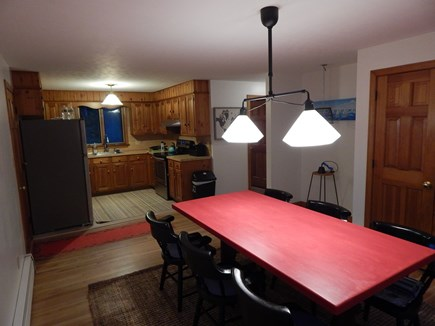 Falmouth Cape Cod vacation rental - Kitchen and ship's galley, seats about 10!