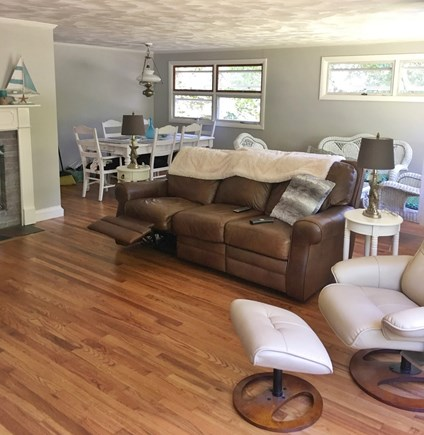 West Falmouth Cape Cod vacation rental - Comfortable TV room