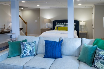 Chatham Cape Cod vacation rental - Lower Level - 1 Queen Bed and Living area