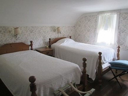 Wellfleet Cape Cod vacation rental - Upstairs Bedroom with 2 Twins