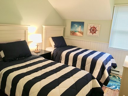 North Chatham Cape Cod vacation rental - Guest Bedroom with 2 twins