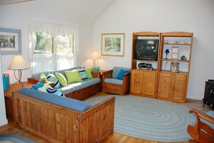 Chatham Cape Cod vacation rental - Cheerful Living Area