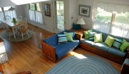 Chatham Cape Cod vacation rental - View of Living Area from Upstairs