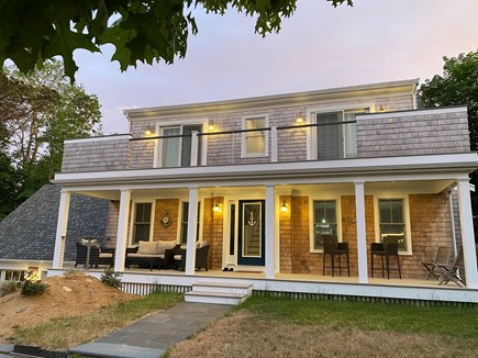 Wellfleet Cape Cod vacation rental - Furnished decks. Morning sun and peaceful, evening visits.