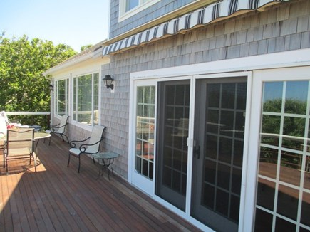 East Dennis Cape Cod vacation rental - The deck
