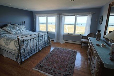 East Dennis Cape Cod vacation rental - 2nd Level master is being redecorated w/wood flrs & fresh decor