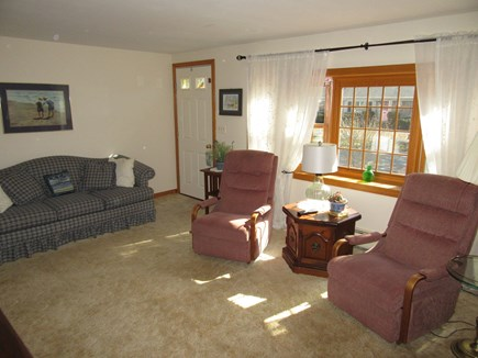 South Dennis Cape Cod vacation rental - Alternate view of living room