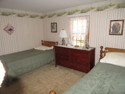 South Dennis Cape Cod vacation rental - Bedroom 2 with twins