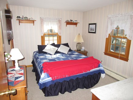 South Dennis Cape Cod vacation rental - Third bedroom with queen is off the dining room