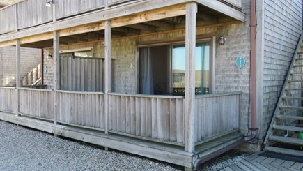 Provincetown Cape Cod vacation rental - Covered Porch to sit out and have morning coffee.