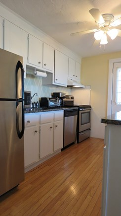 Provincetown Cape Cod vacation rental - Kitchen with all new stainless appliances