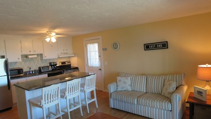 Provincetown Cape Cod vacation rental - Large open Living room and kitchen
