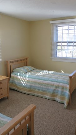 Provincetown Cape Cod vacation rental - Second bedroom with twin beds, amazing light in the back bedroom.