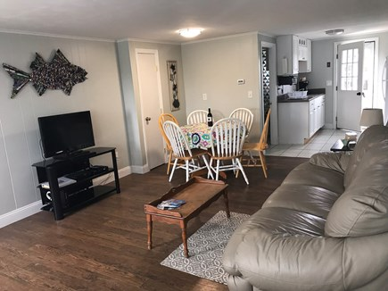 West Dennis / Dennisport Cape Cod vacation rental - Living room  and dining area unit 111