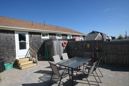 West Dennis / Dennisport Cape Cod vacation rental - Rear Yard Patio with Outdoor Shower