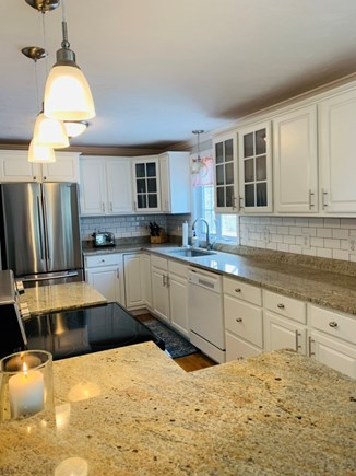 South Yarmouth Cape Cod vacation rental - Kitchen with large island for entertaining and cooking