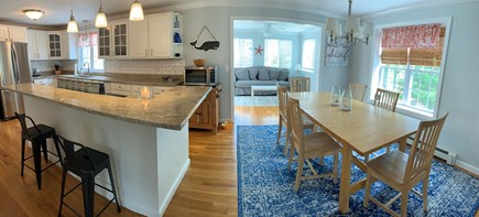 South Yarmouth Cape Cod vacation rental - Large eat in kitchen