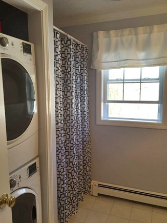 South Yarmouth Cape Cod vacation rental - First floor full bath and washer/dryer