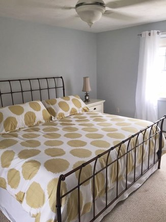 South Yarmouth Cape Cod vacation rental - Master with King bed and A/C unit
