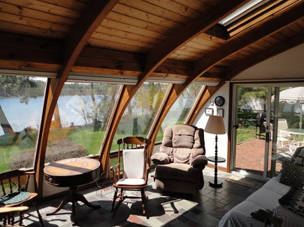 Harwich Cape Cod vacation rental - Solar Room overlooking the pond