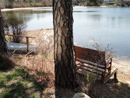 Harwich Cape Cod vacation rental - Beach size will vary based on pond level
