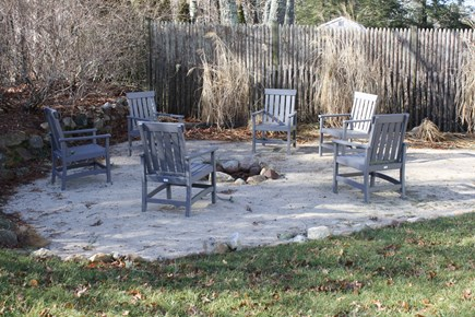 Dennis Cape Cod vacation rental - Relax in the backyard with your toes in the sand