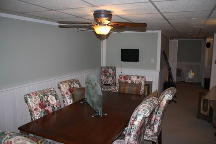 Dennis Cape Cod vacation rental - Lower level bonus room dining area