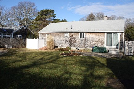 Dennis Cape Cod vacation rental - Rear of home