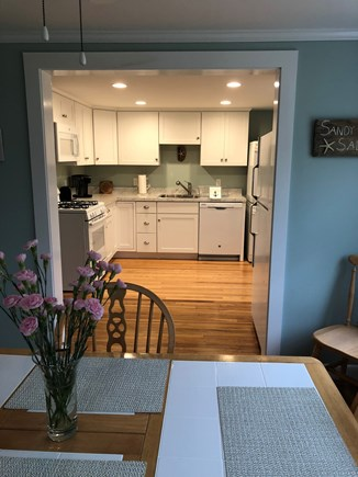 West Yarmouth Cape Cod vacation rental - Open concept from dining room to kitchen