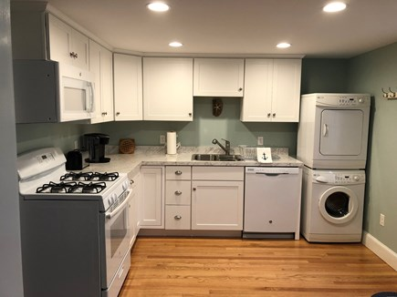 West Yarmouth Cape Cod vacation rental - Kitchen - gas stove, dishwasher, microwave, Keurig, toaster.