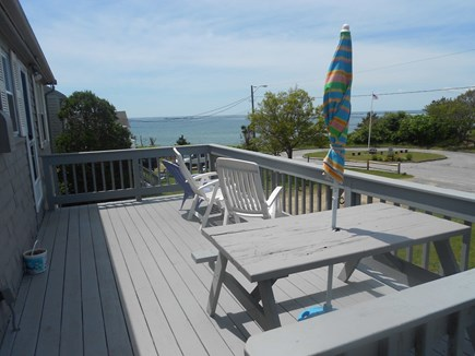 Hyannis Cape Cod vacation rental - View from the deck