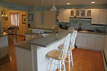 Harwichport Cape Cod vacation rental - Kitchen also features separate wet bar for entertaining.