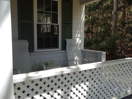 Falmouth, Teaticket Cape Cod vacation rental - Porch