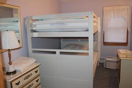 Eastham Cape Cod vacation rental - Second floor bedroom with double bunk beds