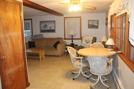 Eastham Cape Cod vacation rental - In-law apartment dining area and living room