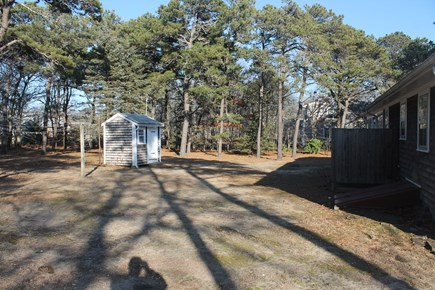 Eastham Cape Cod vacation rental - Large backyard
