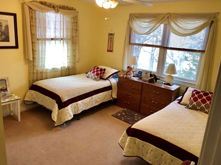 Dennis Cape Cod vacation rental - Bedroom #3 with two twin size beds