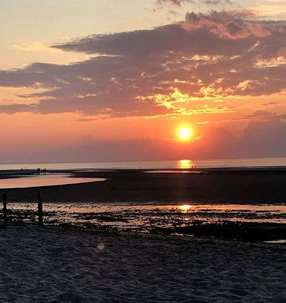 Dennis Cape Cod vacation rental - Mayflower Beach Sunset