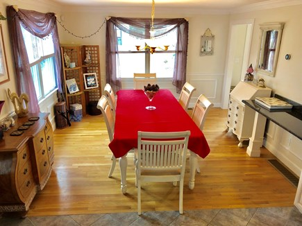 Dennis Cape Cod vacation rental - The dining area.