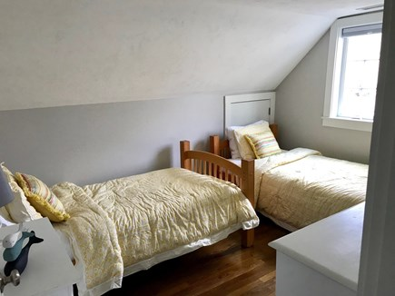 Falmouth Cape Cod vacation rental - Second floor bedroom two twins beds