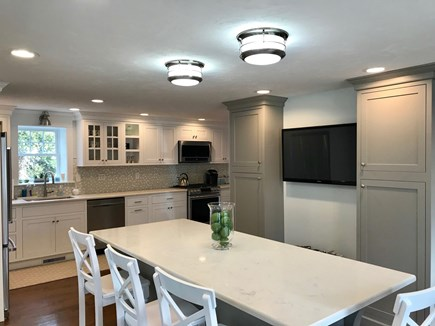 Falmouth Cape Cod vacation rental - Kitchen Island with seating for 4