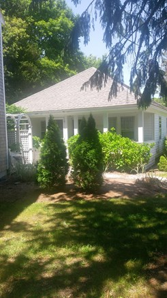 Brewster Cape Cod vacation rental - Front view with porch.