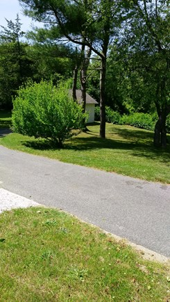 Brewster Cape Cod vacation rental - Private back yard.